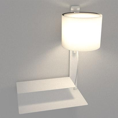 Arandela Lift + Mesa Direita