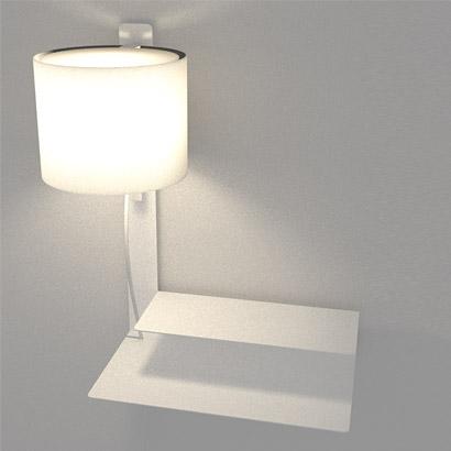 Arandela Lift + Mesa Esquerda
