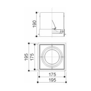 Mix No Frame Ar/Par 1 Foco