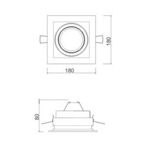 Multiplus AR111 1 Foco