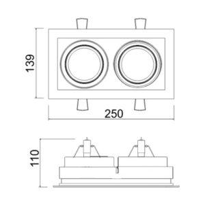 Multiplus Dic/Ar 2 Focos