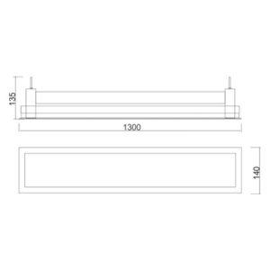Multiplus Difuso - 2x28W/2x32W/LED