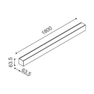 Plafon Vector 3x14